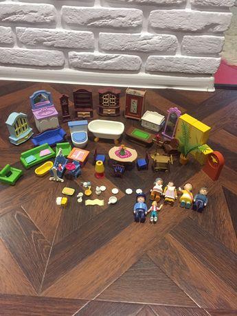 Конструктор кукольная мебель винтаж 1980-90 года playmobile