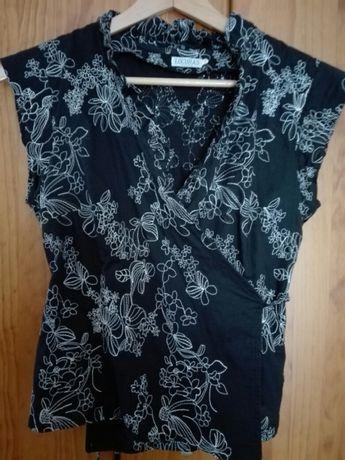 Blusa bordada traçada