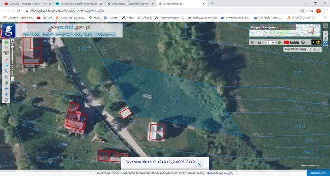 Sprzedam działkę rolno-budowlaną w Szaflarach - 14km od Zakopanego