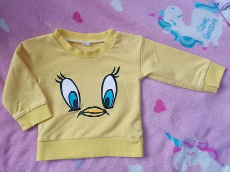 Super bluza r. 74 - 80 TWEETY