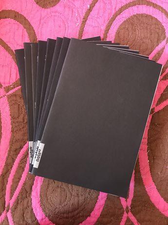 Cadernos Pautados e Quadriculados Note Novos