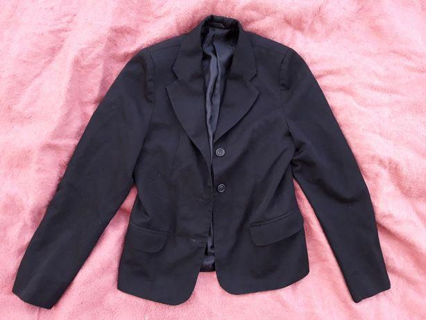 Пиджак в школу для школы школьная форма черная черный для девочки бу