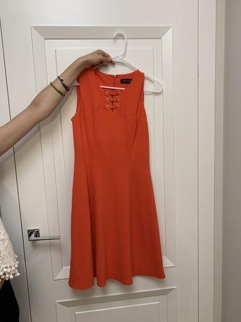 Czerwona sukienka Ivanka Trump