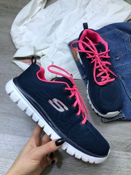 Легкие мягкие кроссовки Skechers