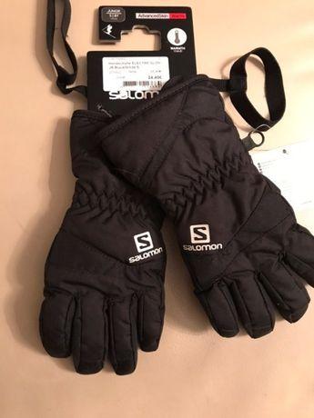 Rękawiczki dziecięce ocieplane na narty Salomon