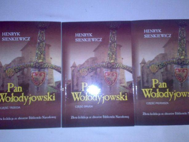 Pan Wołodyjowski część 1, 2, 3