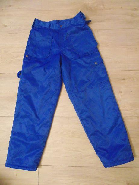 zima, spodnie robocze, monterskie, ocieplane BS - R. M