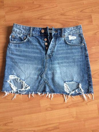 Spódnica jeansowa Zara r S