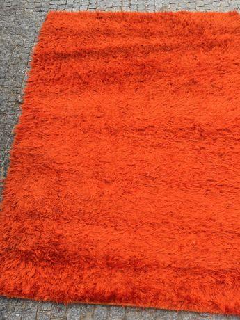 Carpete/ tapete laranja 190 por 130
