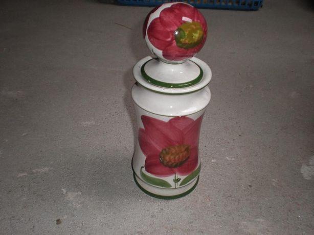 Jarra / pote pintado à mão