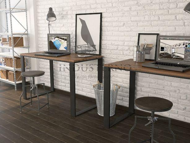 Biurko industrialne firma biuro metal stal ława loft gabinet producent