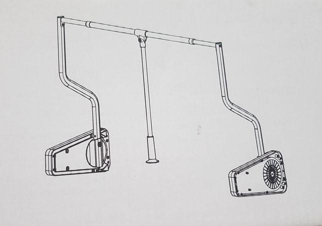 Drążek pantograf Ikea komplement do szaf Pax