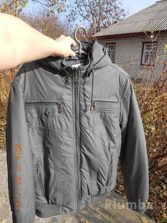 Куртка деми утеплена xl есть замеры