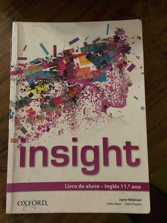 Inglês Insight 11º ano - Livro do aluno + Caderno de atividades