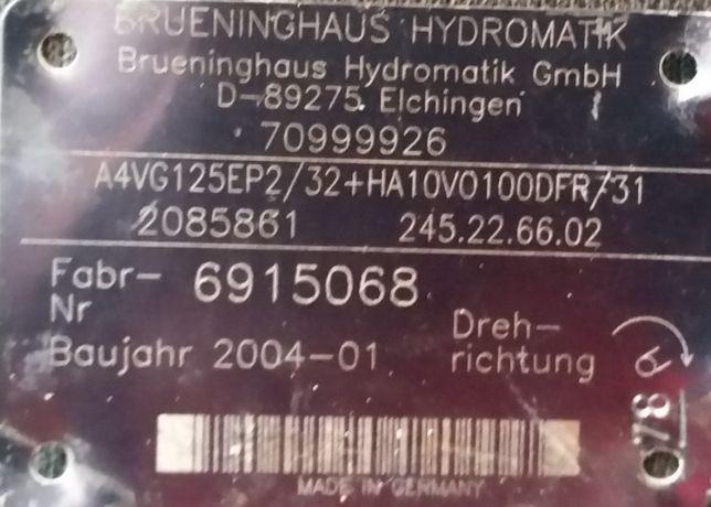 Pompa Hydrauliczna Rexroth A4VG125