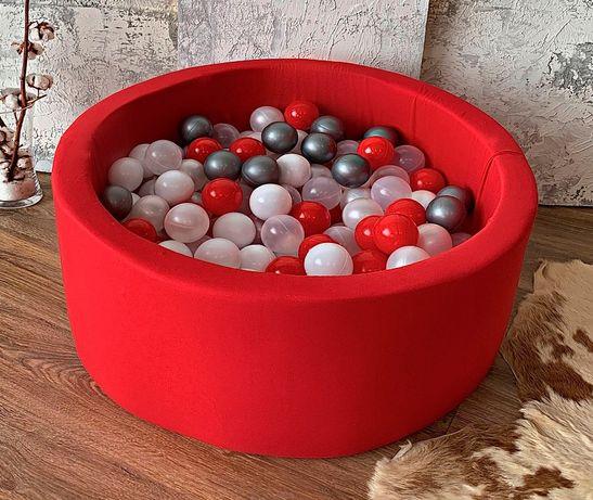 Детский бассейн. Сухой бассейн с шариками. Отправка без предоплаты.