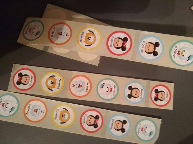 Zabawki Tsum Tsum naklejki dla dzieci Disney