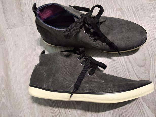 Новые текстильные туфли,кеды,кроссы р.41 мужские подросток