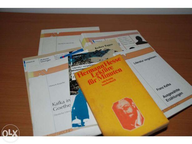 Vários livros em Alemão