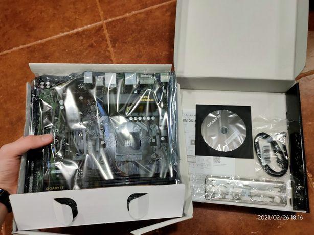 Материнська плата Gigabyte B550M DS3H (sAM4, AMD B550, PCI-Ex16)