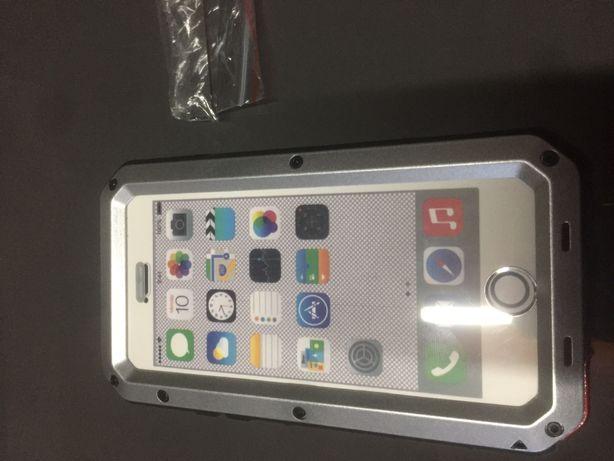 Capa metal de alumínio iphone 6/6s