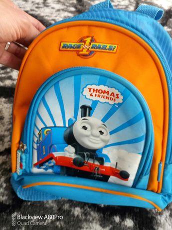 Zestaw plecak dla przedszkolaka torba na ramię  tomek i przyjaciele