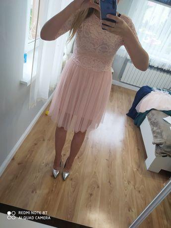 Sukienka r. Uniwersalny koronka
