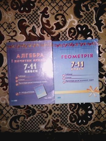 Геометрія+ алгебра (7-11 класи)