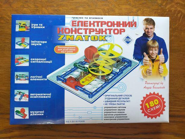 Конструктор Znatok (180 схем) (REW-K003)