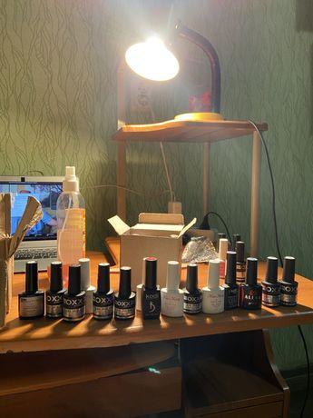 Гель лаки (18 шт) OXXI, Miss mary, Kodi, IL beauty nail, Alexa, Lad.V