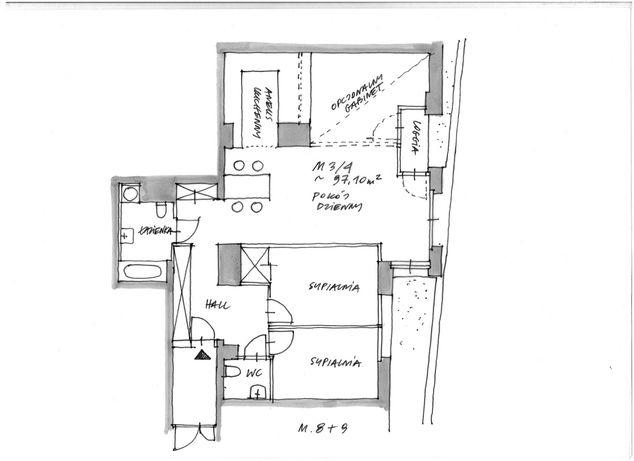 Powierzchnia na biuro 97,10 m2