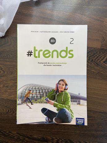 """Podręcznik do języka niemieckiego """"Trends2"""""""