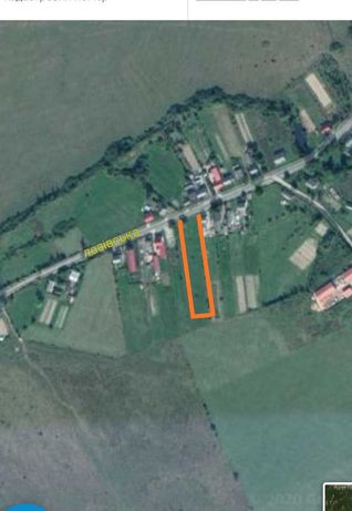 Продам земельну ділянку під забудову м. Тячів 30 соток.