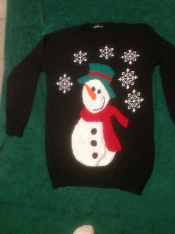 sweter swiateczny