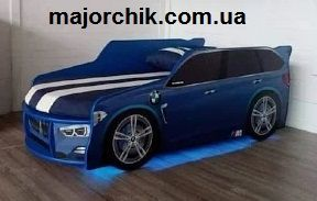 Кровать машина джип машинка БМВ Ауди Мерс с матрасом + бесплат достав