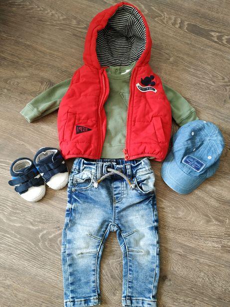 Стильный набор фирменных вещей на малыша 3-6 месяцев