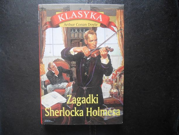 "Książka ,,Zagadki Sherlocka Holmesa"", Arthur Conan Doyle"