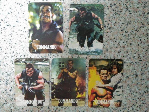 """Calendários de bolso - """"Commando"""" Arnold Schwarzenegger"""