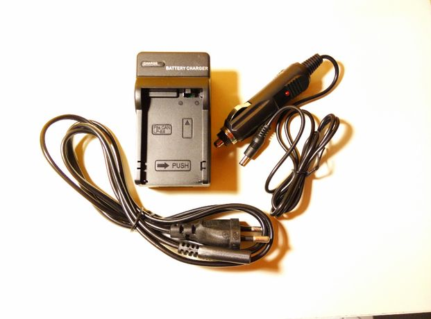 Carregador de baterias Canon Sony Nikon