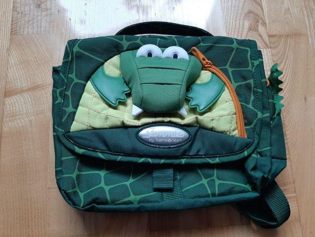 Plecak dziecięcy SAMSONITE -krokodyl-jak nowy