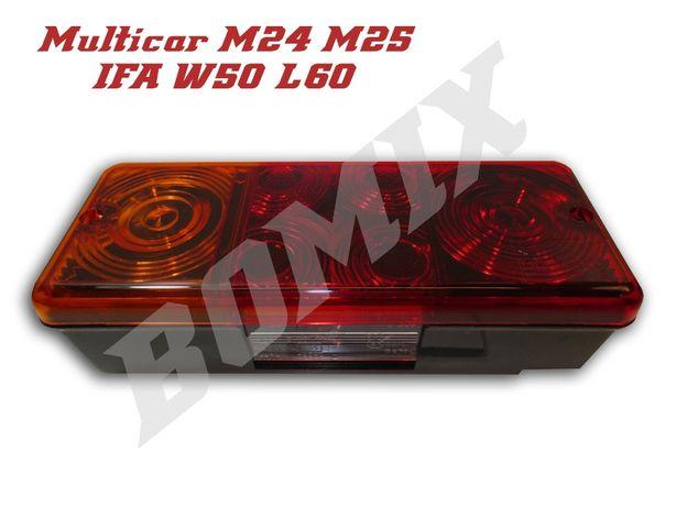 Lampa zespolona tylna lewa Multicar M24 M25 / IFA W50 L60