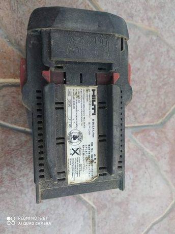 Baterias usadas Hilti