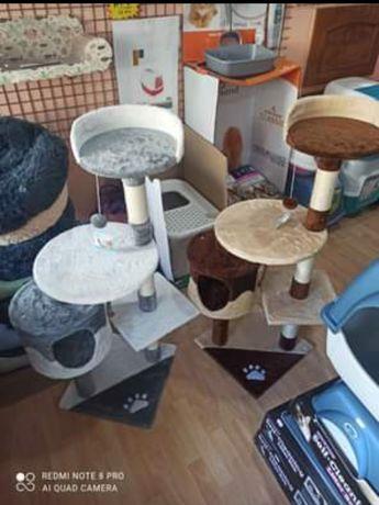 Novo! Arranhador para gato Coimbra 60 x 56,5 x 111,5 cm