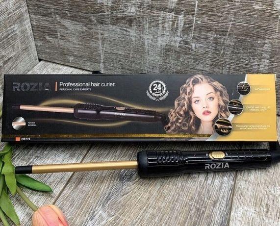 Плойка тонкая для завивки волос афрокудри Rozia HR-776 (10mm) АФРИКАНК