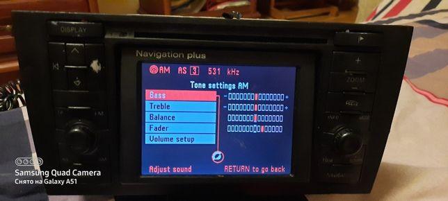 Магнитола Audi А6 С5 RNS-D автомагнитола ауди рнс-д с кодом