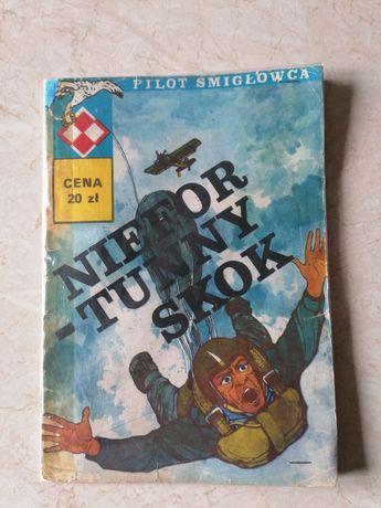 Komiks UNIKAT Niefortunny skok, Pilot Śmigłowca