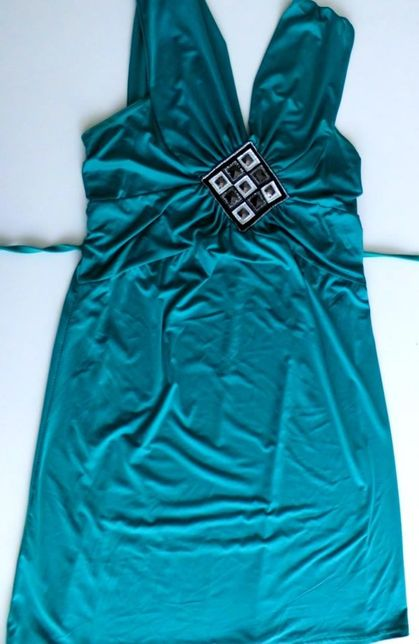 Elegancka, nowa sukienka M