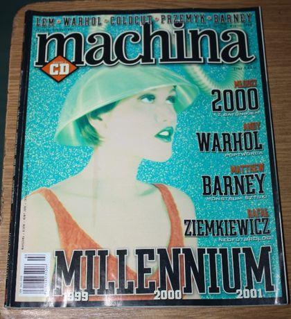 Magazyn, czasopismo Machina, rock