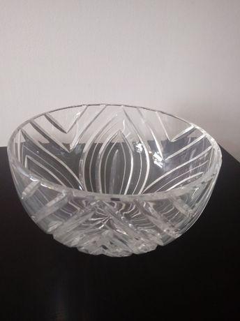 Duża miska kryształowa PRL, możliwa wysyłka