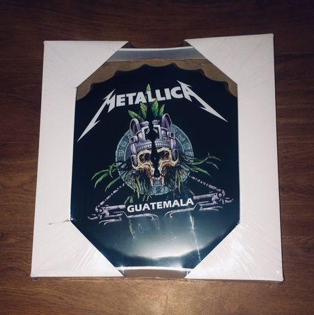 Metallica/Megadeth Rock Часы